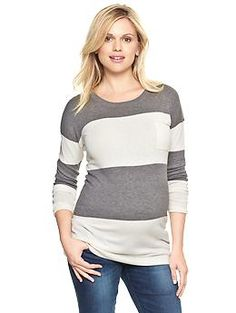 Luxlight rugby stripe pullover | Gap