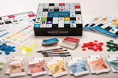 Market Share is a business-based board game designed to bring out the entrepreneurial skill of players. As players build their empire they will need to consider components such as strategy, risk management, budgeting, asset planning, negotiation and cash flow – just as you would in the real world.