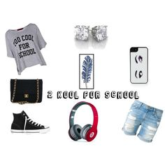 """Too Cool For School ;)"" #TOOCOOLOUTFITGREATFORSUMMER!!"
