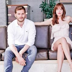 Yet another Jamie Dornan outtake from the Fifty Shades Of Grey promo photoshoot on September 2014 Shades Of Grey Movie, Fifty Shades Darker, Jamie Dornan, Dakota Johnson, Christian, Photoshoot, Sexy, Movies, September 2014