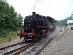 Wutachtalbahn - Wolfies Train Pages  Dampflok 86 333 at Weizen, Germany