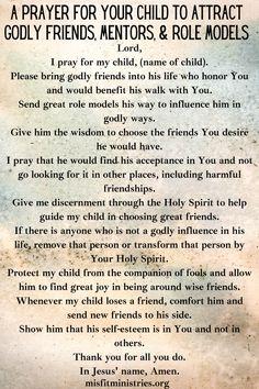 Prayers For My Daughter, Prayer For My Family, Prayer For My Children, Mom Prayers, Everyday Prayers, Prayer For You, Power Of Prayer, Daily Prayer, Morning Prayers
