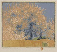 Gustave Baumann, Green Gate Orchard