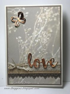 Falling in Love DSP for soft romantic cards | Linda Higgins | Bloglovin'