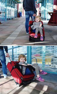 Lugabug Travel Seat for Kids!