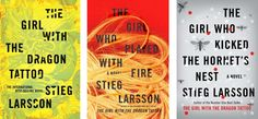 girl with the dragon tattoo book series | The Millennium Series
