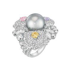 Anillo Printemps de Camelia, colección Les Perles de Chanel