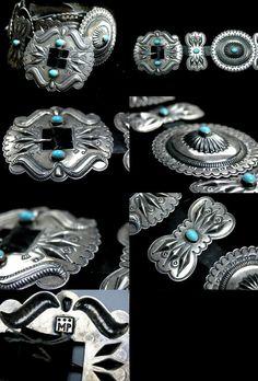 https://flic.kr/p/8QgEXZ | McKee Platero | Navajo concho belt made by McKee Platero.