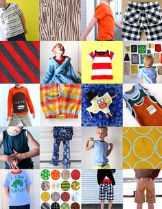Celebrate the BOY Wrapup! | MADE - DIY boys clothes!!