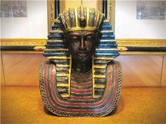 Ancient Egypt had a characteristic relation with masks. Because of ubiquity of religion and its mysteriousness masks were practically used as a method for transformation from mundane to the divine. Read more about history of Egyptian Masks. History Of Masks, Egyptian Mask, King Tut Tomb, Canopic Jars, Art Lessons For Kids, Tutankhamun, Ancient Egypt, Mask For Kids, Archaeology