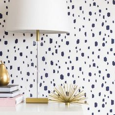 Modern dalmatian spo  Modern dalmatian spots + 15 Wallpaper Patterns That You'll Crave Instead of Cringe:  www.stylemepretty... :