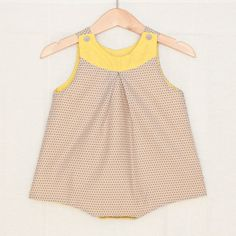Hey, I found this really awesome Etsy listing at https://www.etsy.com/ca/listing/384738438/retro-baby-girl-romper-in-light-grey
