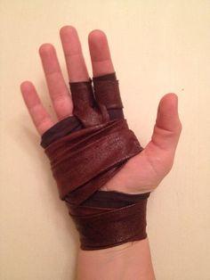 Lara Croft Tomb Raider Archery Glove / Wrap by AnotherLittleShop