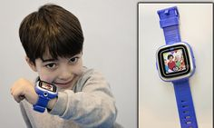 Now there's a smartwatch for KIDS: Vtech launches £40 device complete with video camera and games