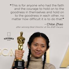 #chloezhao Theatre Quotes, Best Director, Monologues, Lessons Learned, Improve Yourself, Hold On, Encouragement, Good Things, Motivation