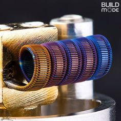 With colors. #vape #vapeporn #coilbuilding