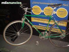 . Bicicleta clasica GITANE color verde muy buen estado, para llegar y montar Gitane Basty  cuadro de 52 cm. ven a verla sin ningun compromiso a la calle sevilla n�12
