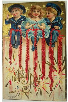 4th of july vintage decorations