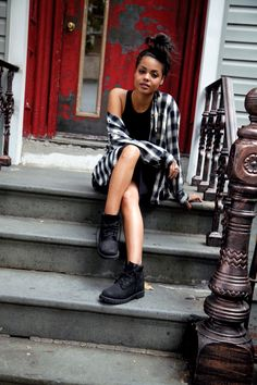 Cute Outfits with black Timberlands | For me, little black dresses, are the quintessential wardrobe dime ...
