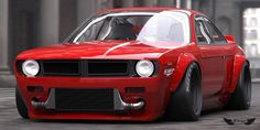 Nissan 200SX Silvia (S14)  with Rocket Bunny Wide Body Kit  Pandem to be '70 Plymouth Cuda