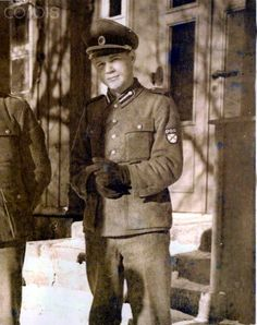 Young Vlasov Russian Army of Liberation Officer, POA-ROA about 1944