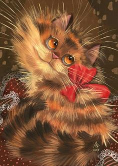 Cat portraits. Charming - Ljuba Eremina