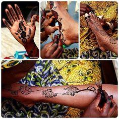 Traditional Kenyan & Nigerian Bridal Henna Tattoos