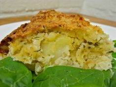 Gluten Free Potato and Rosemary Bake. You only pulse this on low a little or you will end up with potato soup! This is simple and delicious!