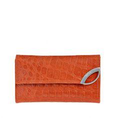 Billetera de Cuero-Croco | P100602