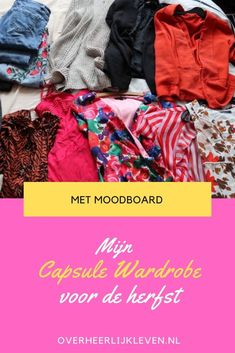herfst capsule wardrobe 2020 najaar wat is een capsule wardrobe? hoe begin je met een capsule wardrobe? zo ziet mijn capsule wardrobe eruit met moodboard inspiratie voor je outfit Outfits, Suits, Kleding, Outfit, Outfit Posts, Clothes
