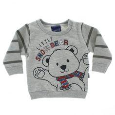 Agasalho Alakazoo Moletom Bebê Infantil Menino Little Snowbear - 23691 - Imagem 3