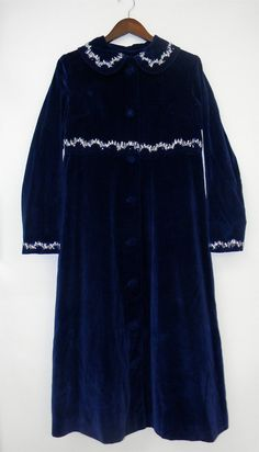 XS S Extra Small Vintage Velvet 60s 70s by PinkCheetahVintage