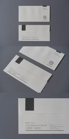 envelope Layout Design, Ci Design, Typo Design, Brand Identity Design, Branding Design, Business Envelopes, Business Stationary, Stationary Design, Corporate Design