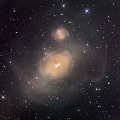 NCG 1316 After Galaxies Collide from the NASA app.