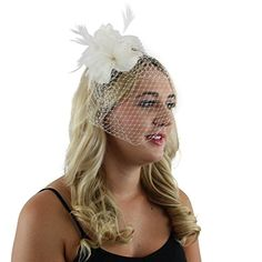 Vintage Fashion Allie Feather Flower Fascinator Tea Party Hat Headband Wedding Prom Accessory with Netting Veilhttp://secretofdiva.com/product/allie-feather-flower-fascinator-tea-party-hat-headband-wedding-prom-accessory-with-netting-veil/ Check more at http://secretofdiva.com/product/allie-feather-flower-fascinator-tea-party-hat-headband-wedding-prom-accessory-with-netting-veil/