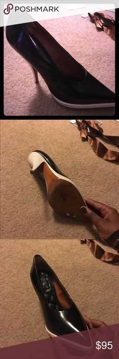 Vintage Black & White Celine Heels Chic and comfortable. These shoes are a great addition to your every day work wear or special occasion Brunch Slay. Quilted soles makes you look and feel as though you're walking on air. Celine Shoes Heels