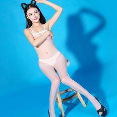 8bd3c5da00d Shiny Sheer Glossy Tights Pantyhose Lingerie Crotchless Bodystocking Lady  Glossy Tights Shiny
