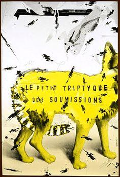 Le petit triptyque des soumissions. Ecrit et mis en scène par Dominique Sarrazin. Création du Théâtre de la Découverte - Lille