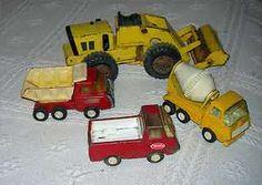 Image detail for -Diecast Toys - 3 Trucks & a Bull Dozer; 3Tonkas & a Buddy L, Sandbox ...