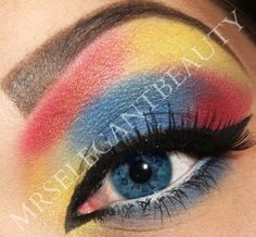 Superman Ice Cream https://www.makeupbee.com/look_Superman-Ice-Cream_42073