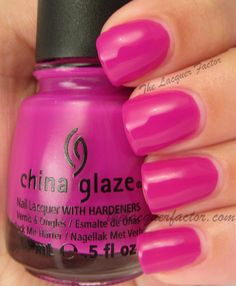 @China Glaze Under The Boardwalk