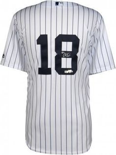 2fd53380b36 Didi Gregorius New York Yankees Autographed Majestic White Replica Jersey  York Yankees Didi
