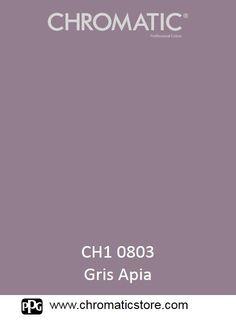 Finalisez votre projet peinture avec le gris Apia CH1 0803 en vous rendant dans l'un de nos points de vente partenaires. Trouvez votre distributeur sur www.chromaticstore.com