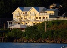 The Rhinecliff Hotel - Rhinecliff, NY  Perfect location for a romantic elopement wedding to a full-sized event.  James and his staff make every couple feel appreciated and honored, no matter what the size of their affair.