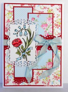 SC485, Rose Red by Waratah - Cards and Paper Crafts at Splitcoaststampers