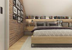 Attic Master Suite, Master Bedroom, Bedroom Loft, Bedroom Decor, Loft Conversion Bedroom, Attic Rooms, Home Interior Design, Room Inspiration, New Homes