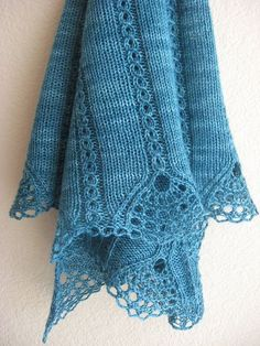 Free Pattern ... Tiare Shawl by WendysKnitch, via Ravelry.