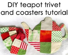 DIY Teapot Trivet and Coasters Tutorial  by Hello, ReFabulous!