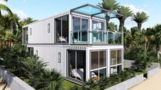 China Neazealand Standard Luxury Modular Prefabricated Container House, Find details about China Prefabricated House, Modular House from Neazealand Standard Luxury Modular Prefabricated Container House - Jiangxi HK Prefab Building Co. Container Shop, Storage Container Homes, Building A Container Home, Container House Plans, Container House Design, Prefab Buildings, Prefabricated Houses, Prefab Homes, Shipping Container Buildings