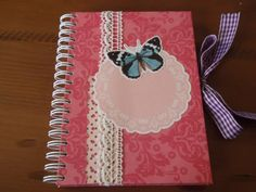 libreta decorada scrapbook - Buscar con Google